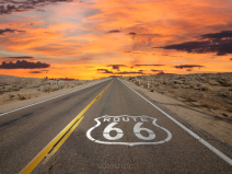 Fototapety ROUTE 66