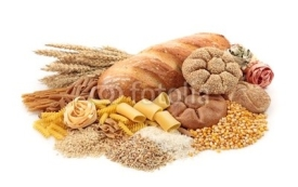 Fototapety Foods high in carbohydrate