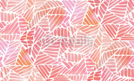 Naklejki Watercolor abstract seamless pattern. Vector illustration