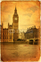 Fototapety The Houses of Parliament, Westminster, London