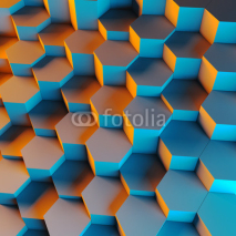 Naklejki 3d geometric background