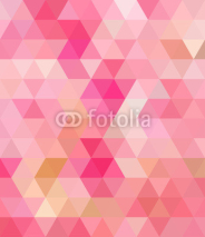 Fototapety Pink Triangle Abstract Background