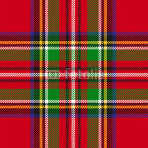 Fototapety vector seamless tartan plaid pattern