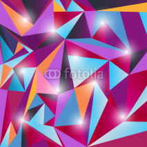 Fototapety multicolor triangle texture