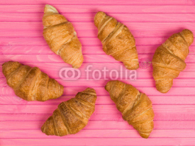 French Style Baked Breakfast Croissants