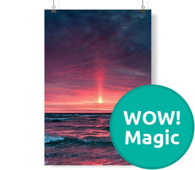 Plakat WOW! Magic