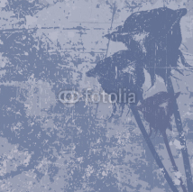 Fototapety Grunge vector background with roses