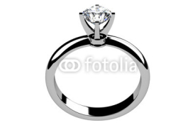 Fototapety The beauty wedding ring