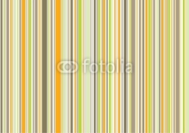 Naklejki retro orange brown green stripes