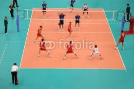 Fototapety volleyball
