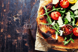 Fototapety pizza vegetarian
