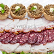 Fototapety Snack from the cut meat