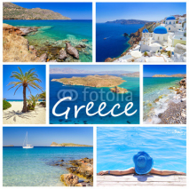 Obrazy i plakaty Collage of images from Greece