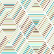 Fototapety Seamless abstract geometry background pattern