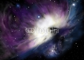 Fototapety Illustration of orion nebula