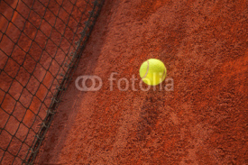 Fototapety Tennis Ball On The Court
