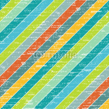 Naklejki Colorful grunge strips, seamless background
