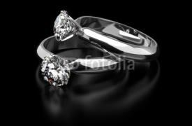 Fototapety Diamond Rings