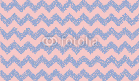 Rose quartz and serenity. Chevron backdrop. Vector illustration.