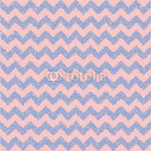 Fototapety Rose quartz and serenity. Chevron backdrop. Vector illustration.