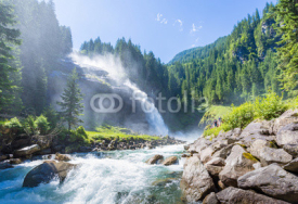 Fototapety The Krimml Waterfalls in the High Tauern National Park, Salzburg