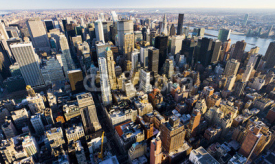 Obrazy i plakaty view of Manhattan from The Empire State Building, New York City,
