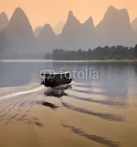 Naklejki Li River - Guilin - China