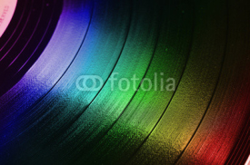vinyl record background , retro look
