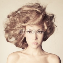 Fototapety Beautiful woman with magnificent hair