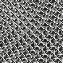 Naklejki Abstract Seamless Art Deco Vector Pattern Texture