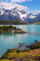 Fototapety The National Park Torres del Paine, Patagonia, Chile