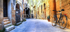 Fototapety pictorial streets of old Italy series - Pitigliano