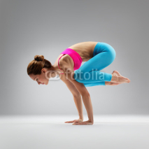 Fototapety the yoga woman