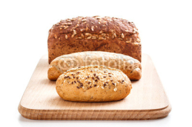 Fototapety Different types of bread