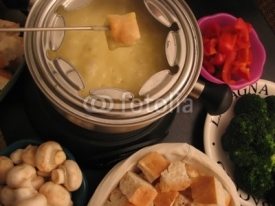Fototapety fondue (chees)