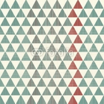 Obrazy i plakaty abstract textures triangles seamless pattern