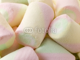 Fototapety Coloured Marshmallows