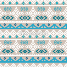 Fototapety Tribal art boho ethnic seamless pattern