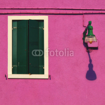 Fototapety Facade detail on Burano