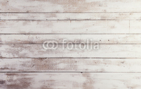 Naklejki White wooden boards with texture as background