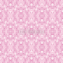 Fototapety Seamless gently-pink wallpaper.