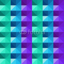 Fototapety Vector abstract geometric colorful triangles pattern