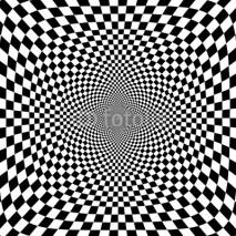 Naklejki Vector illustration of optical illusion s background