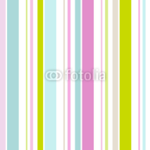 Naklejki Seamless Pattern Retro Stripes Pastel