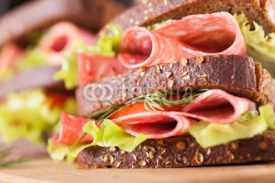 Fototapety big sandwich