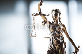 Fototapety Statue of justice