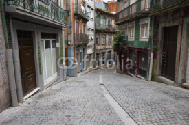 Obrazy i plakaty Street and Houses in Old Town of Porto