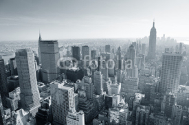 Obrazy i plakaty New York City skyline black and white