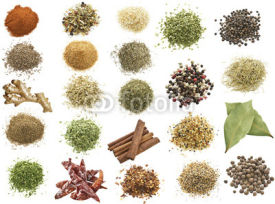 Naklejki Spices Collection