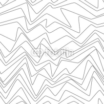 Fototapety Seamless Repeat Minimal lines abstract strpes paper textile fabric pattern